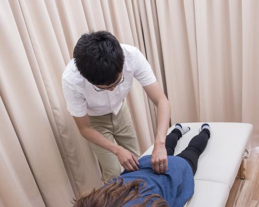 腰痛 施術