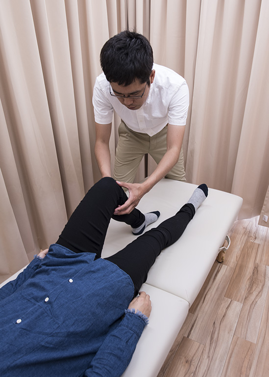 ひざ痛 施術