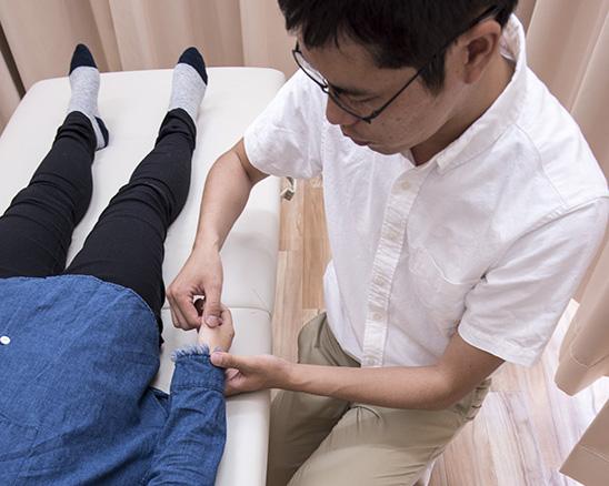 手足のむくみ 施術
